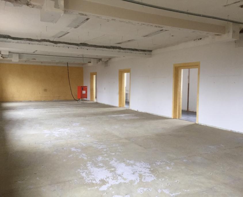 Praxisgeschichte: Die Praxisräume am Lindscharren vor dem Umbau - Augenarztpraxis Ettlingen