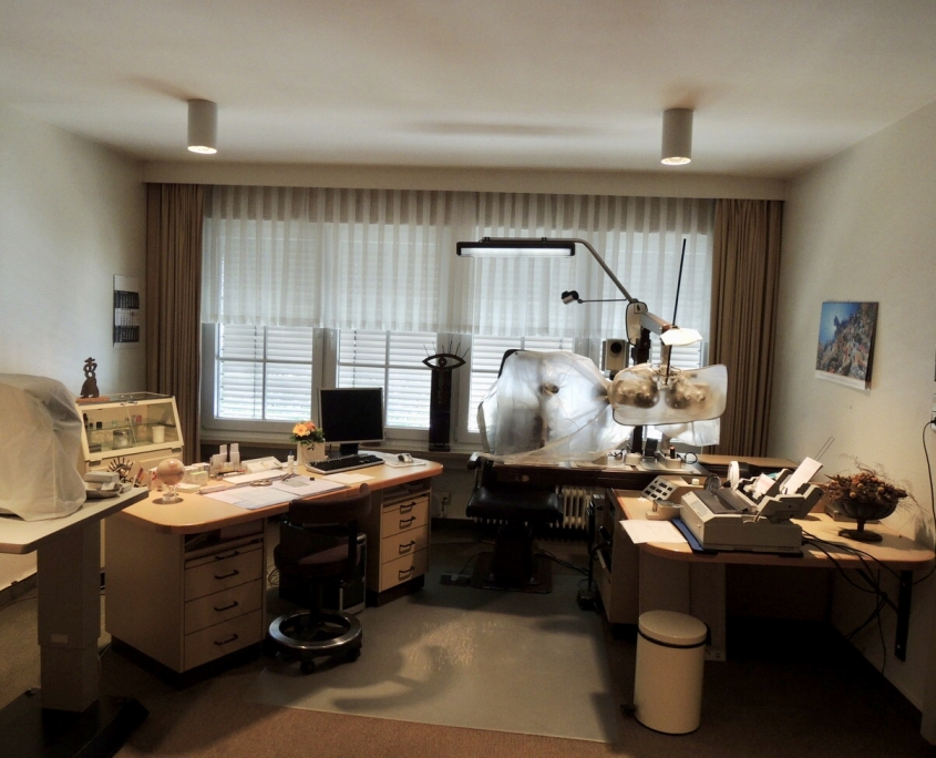Praxisgeschichte: Die Praxisräume am ehemaligen Standort in der Mühlenstraße