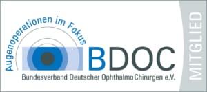Dr. Andrea Wißmann ist Mitglied im Bundesverband Deutscher OphthalmoChirurgen e.V. (BODC)